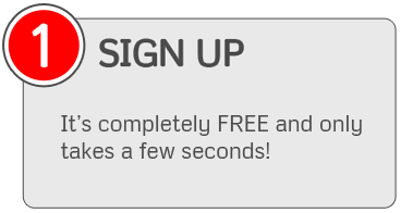 SIGN UP - It's completely FREE and only takes a few seconds!